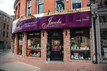 Jacobs the Jewellers Shop Front 2021